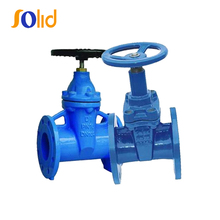 ANSI F4 DN150 Rubber Wedge Automatic Gate Valve