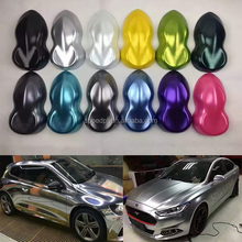 Air Bubble Free Matte Pearl Metallic Silver Satin Chrome wrap vinyl car