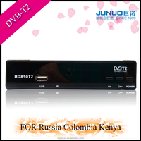 shenzhen factory HD dvb t2 set top box free to air open box cable receiver