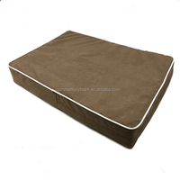 Orthopedic Dog Bed,rectangular memory foam pet cushion