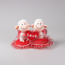 new arrival plush toys cute white sheep valentine gifts hot sale!