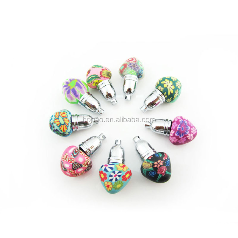 Lovely Mini Heart Shape Perfume Bottles 1ml