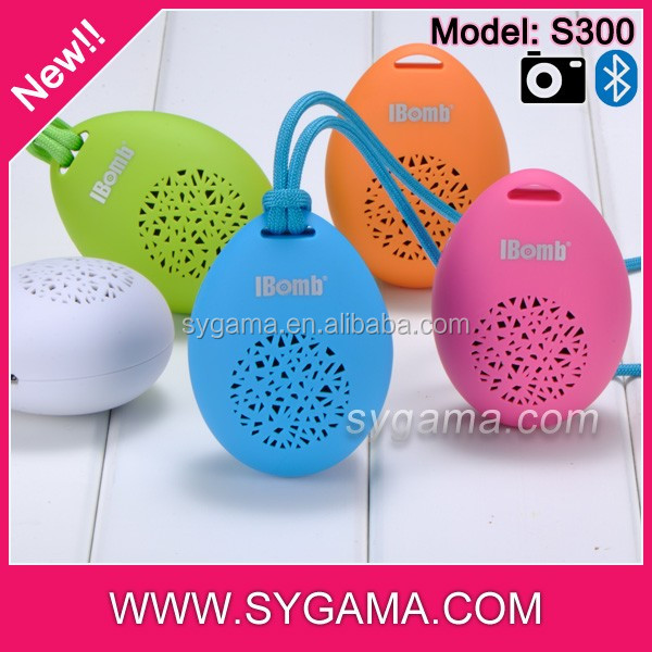New! Lovely Hot selling christmas gift mini MP3 bluetooth speaker with handsfree selfie