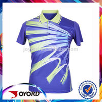 Men Full Sublimation Polyester Latest Design