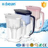 Kclean best-selling BPA free high quality 2.5L alkaline water filter jug