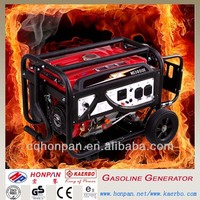 3kw Electric Start Portable Biomass Power Generator