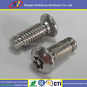 Stainless Steel Tamper Proof Security Screws