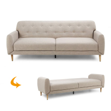 Modernos Button Tufted OEM Baratos European Modern Design Sofa Cum Bed