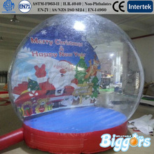 Outdoor Inflatable Snow Globe Snow Dome With Repair Kit