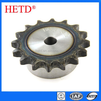 HETD brand Roller chain Sprocket 15.875-pitch 1-row 16-teeth transmission parts 10B-1-16T