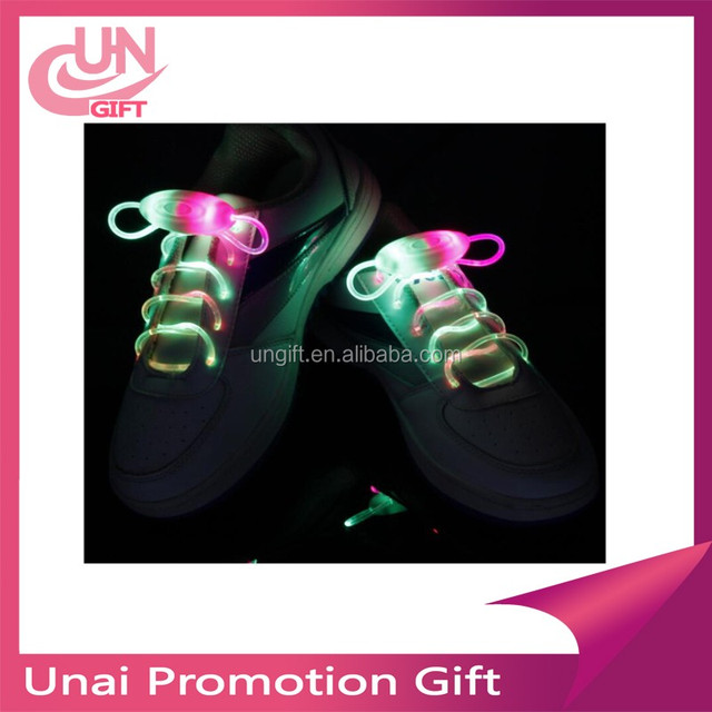 New Arrival Light Up LED Shoelaces Fashion Flash Disco Party Glowing Night Sports Shoe Laces Shoe Strings Multicolors