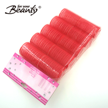 38mm Red Magic Self Grip Tape Self-Adhering Marcelling Hair Roller