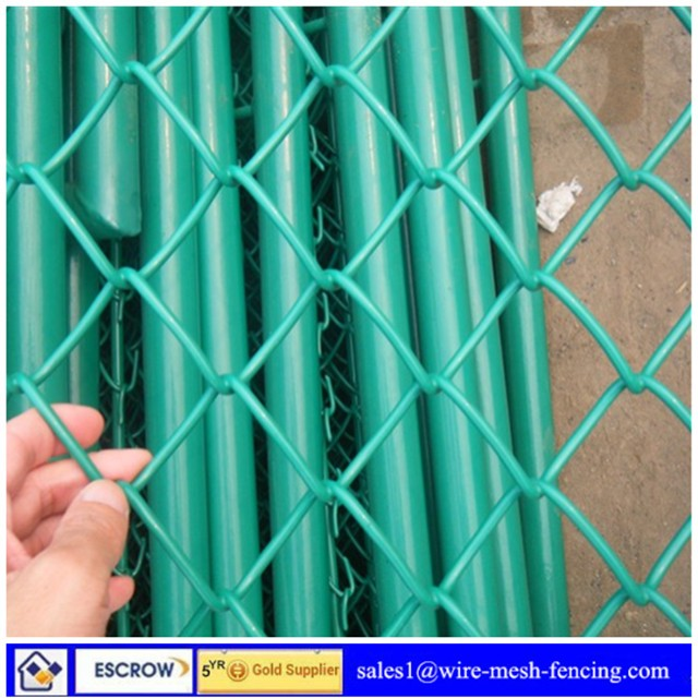 Manufacturers selling galvanized PVC chain link fence