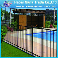 steel swimming pool fence / invisible pool fencing