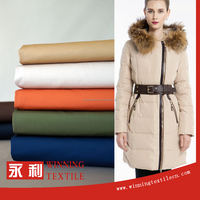 China manufacture softextile cotton coat fabric