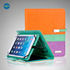 safe material pu leahter tablet protective case with power bank
