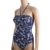 Classical Printing Swimwear Women One-Piece Sexy Sling Swimsuit Wholesale