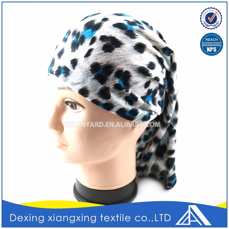 Good quality design motorcycle headband printed pictures elastic bandana