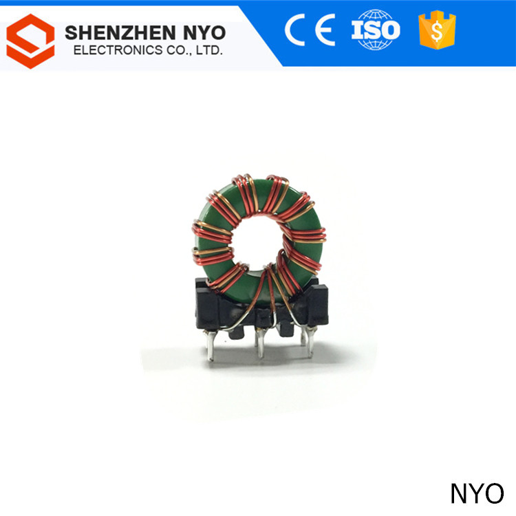 Different mode inductor/ 2*3 pins plastic bottom MnZn toroidal core