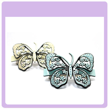 Lovely butterfly cellulose acetate hair clip