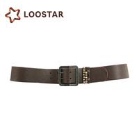 LLUS7641-49 Length Customized pu 2 inch leather belt