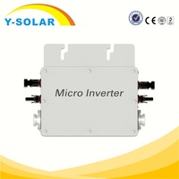 Y-SOLAR WVC-600W-110V china factory wholesales grid tie inverter for home solar system