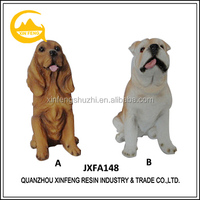Different Type Dog Statue Polyresin Animal Figurines