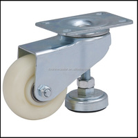 Factory supply 3 inch nylon height adjustable caster