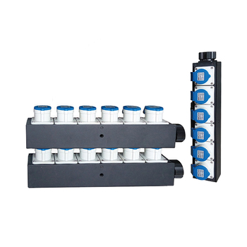 Split panel switch board Power distro panels