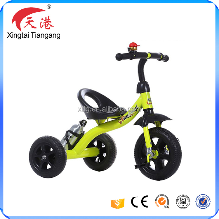 2017 baby toys products kids 3 wheels bicycle tricycle for 2 years