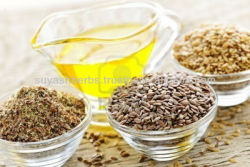 Flax seed extracts & Linseed , GMP PLANT.