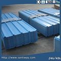 2014 hot selling blue color coated metal roof tile sheet/ plate for sale