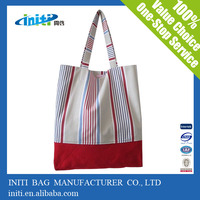 Cheap wholesale reusable promotional canvas laptop bag