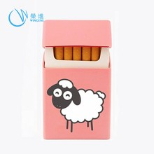 Fashion China OEM Wholesale Cigarette Silicone Case/Cigarette Box/Cigarette Cover