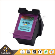 Remanufactured Compatible color ink cartridge 63XL for HP 2130 3630 1111 4520 4650 5740