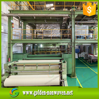fabric recycled pe coated nonwoven roll/non woven interlining fabric/pp spunbond nonwoven in stock made in China