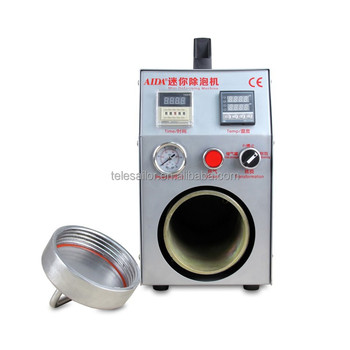 2015 2 in 1 Mini air bubble remove machine with built-in vacuum pump,remove bubble machine , to be Air Compressor