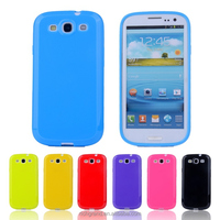 Candy Color Soft TPU Gel Silicone Case Plastic Cover for Samsung Galaxy S3 SIII I9300 S3 Duos i9300i / S3 Neo i9301 Phone Cases