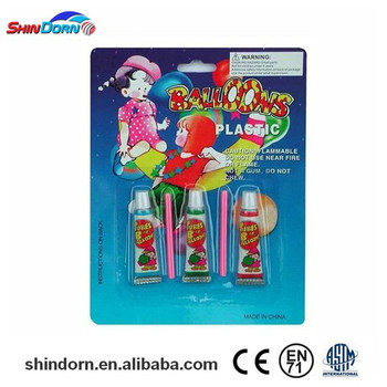 Wholesale magic balloon glue, plastic bubble balloon, creative toys