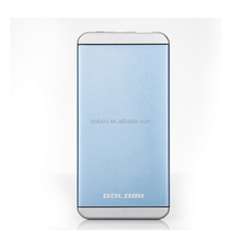 New type customized logo real capacity 5000mah portable power banks for mobile phones and USB devices