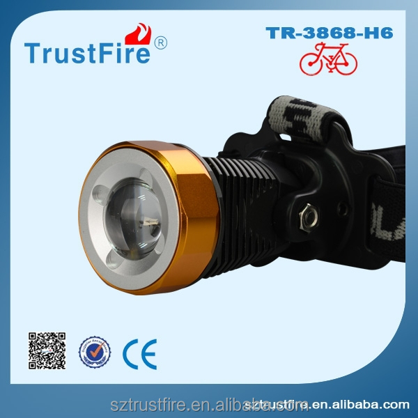 TrustFire 3868-<strong>H6</strong> sharpy beam moving head light/bike light, bike bicycle head light