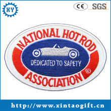 National Hot Rod Association woven embroidery badge