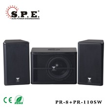 professional active sub 10inch speaker for outdoor
