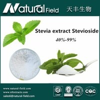 Food & beverage sweetener additive 100% natural stevioside