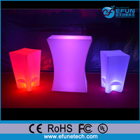 portable remote control rgb color changing illuminated led light up coffee shop bar counter