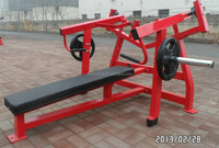 Commercial Fitness Equipment Lateral Horizontal Bench Press HZ28/Hammer Strength Gym Equipment/Body Building Gym Equipment