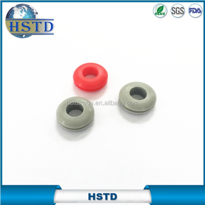 food grade clear silicone grommet