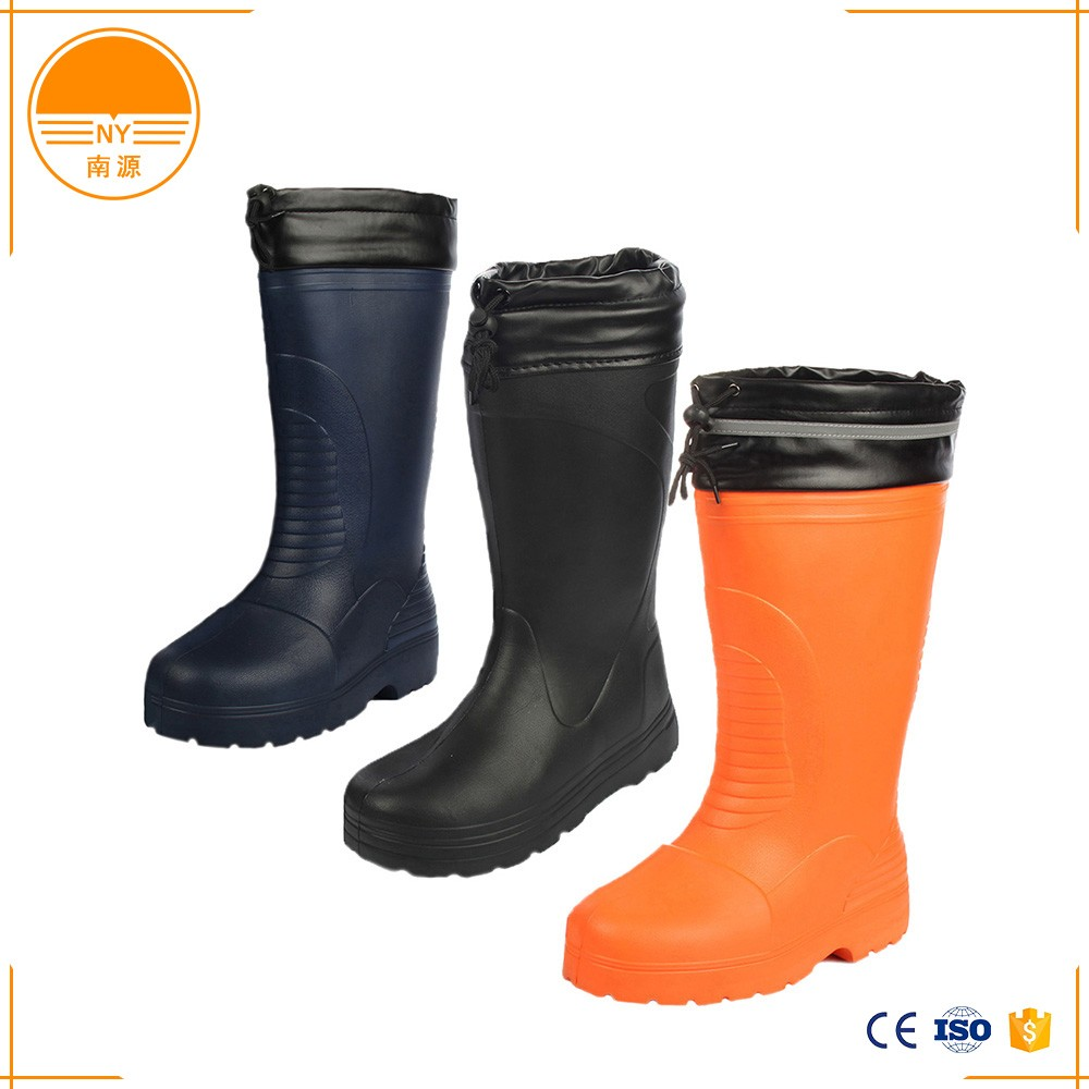 EVA Boots Safety Shoes With Plastic Steel Toe Cap