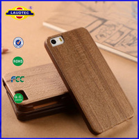 Genuine Natural walnut Wood wooden combo New Hard Cover Case for iPhone 6 Laudtec