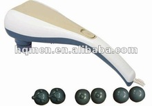 Dual head infared vibration body slimming back massager